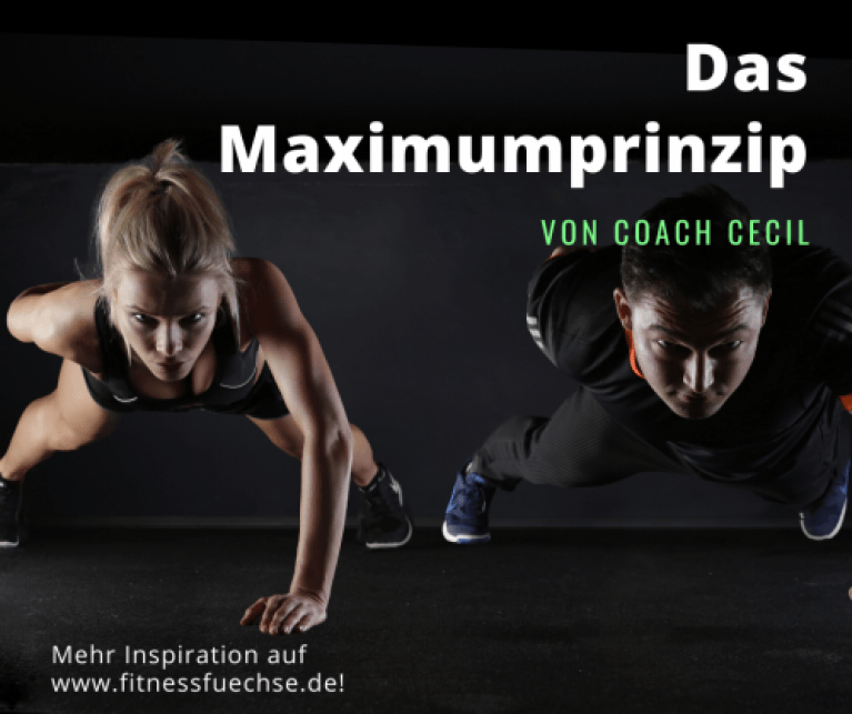 Maximumprinzip von Coach Cecil.