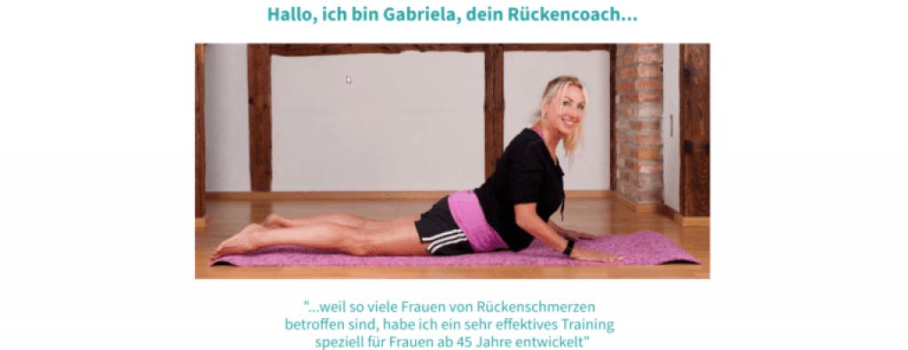 Pilates 4 Life - Schmerzfreier Rücken - Einblick.