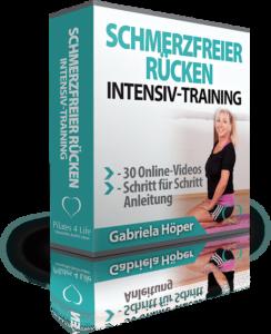 Pilates 4 Life - Schmerzfreier Rücken Intensivtraining.